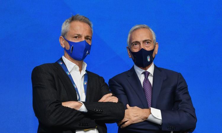 Dal Pino e Gravina da Draghi: grido d'allarme della Serie A per riaprire gli stadi. Può saltare la prima giornata