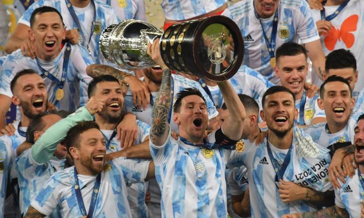 Coppa America all'Argentina: Di Maria-gol, Brasile ko al Maracanà. E Messi scaccia la maledizione