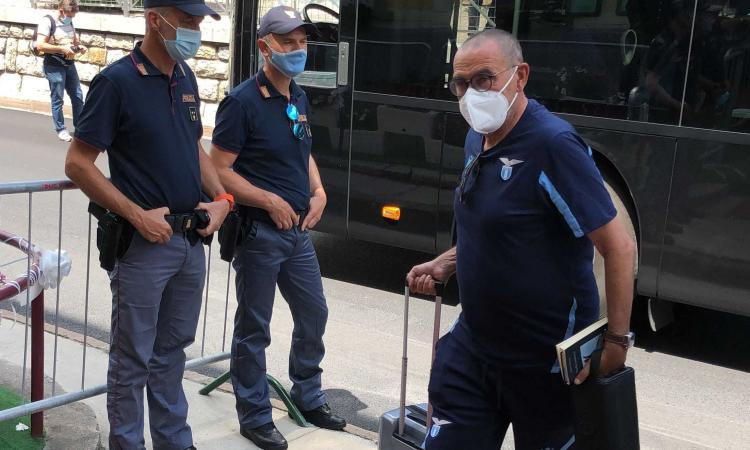 Lazio: Luis Alberto resta un problema, non parte per Auronzo. Ritiro al via, c'è Hysaj FOTO