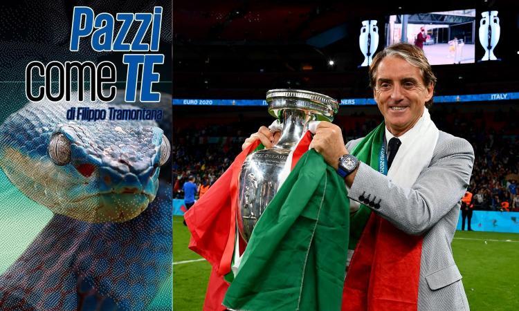 Mancini Re Mida degli allenatori, che errore per l'Inter lasciarlo andare via!