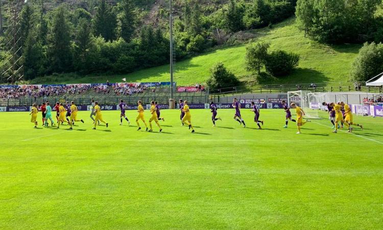 Fiorentina, vittoria in amichevole ma non segna Vlahovic. Italiano: 'Qualcuno era abituato alle pause'