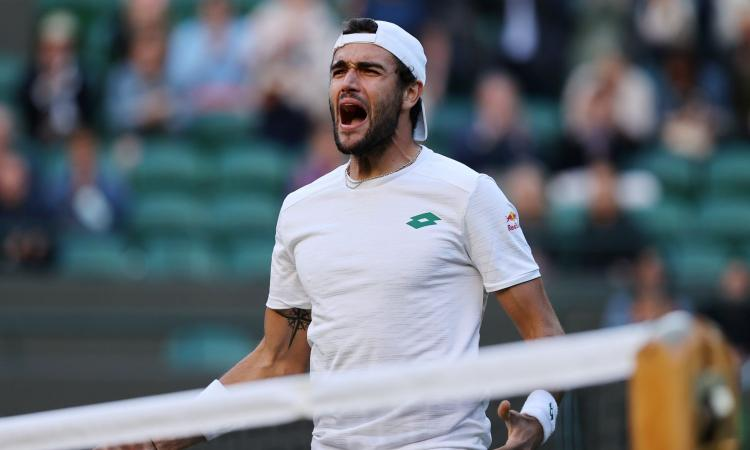 Berrettini sarà a Wembley dopo la finale di Wimbledon: 'Orgoglioso di rappresentare l'Italia'