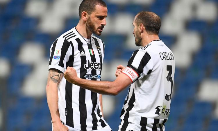 Bonucci e Chiellini non possono fare a meno uno dell'altro: problemi e rischi della nuova Juve