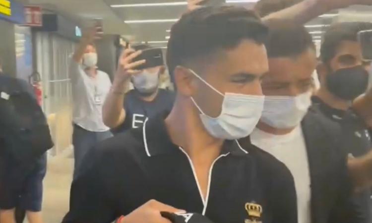 Milan, il ritorno di Brahim Diaz: 'Sono superfelice' FOTO e VIDEO