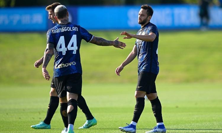 Un gol e tre assist: l'Inter è già di Calhanoglu