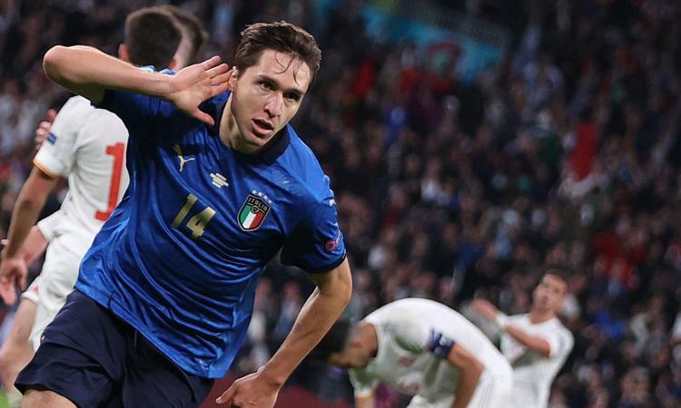 Dall'Italia a Juve e Fiorentina, Chiesa è da urlo quando c'è l'eliminazione diretta: che numeri!