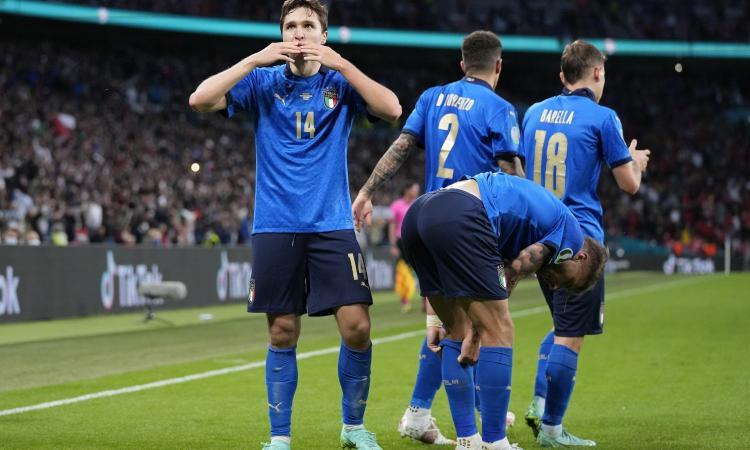 Italia-Spagna, per la Uefa è Chiesa l'MVP della gara FOTO