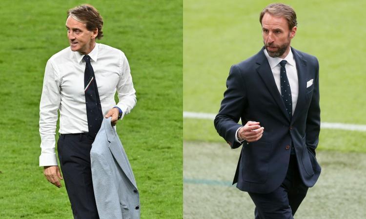 Mancini e Southgate simbolo delle rinascite di Italia e Inghilterra: ora a Wembley per scacciare un doppio incubo