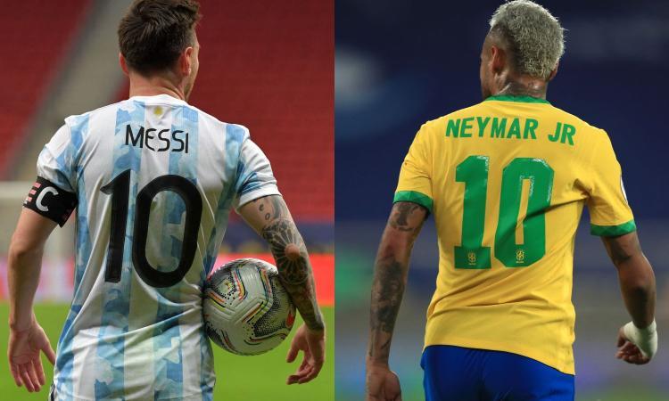 Messi per scacciare la maledizione, Neymar per il Pallone d'oro: duello fra amici nella finale Argentina-Brasile
