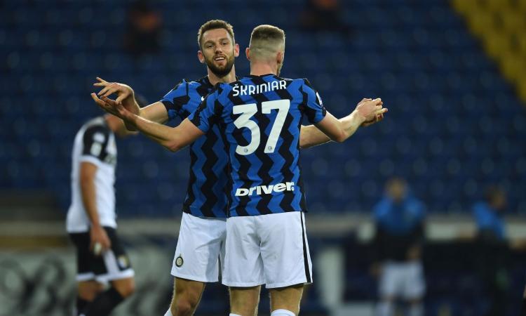 De Vrij e Skriniar, due pilastri per l'Inter di Inzaghi. Ma i rinnovi sono ancora congelati