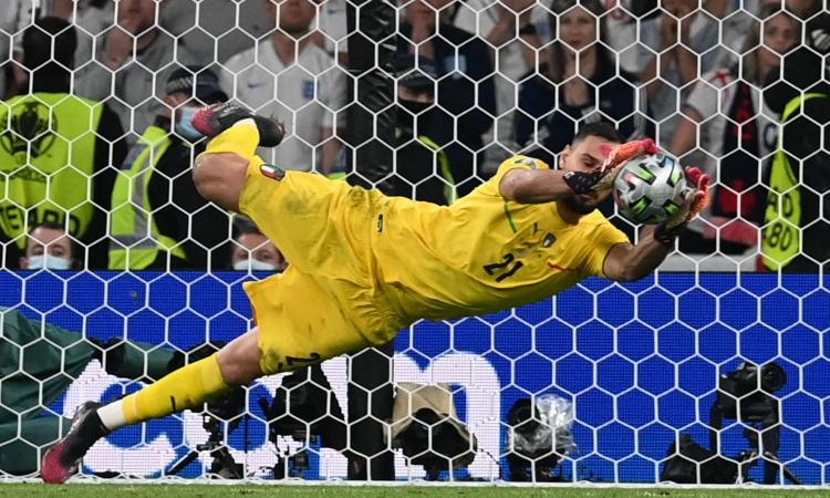 Italia, Donnarumma eletto miglior giocatore di Euro 2020