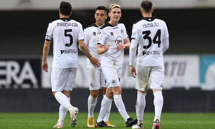 Spezia, un altro calciatore positivo al Covid: annullata l'amichevole con il Montebelluna