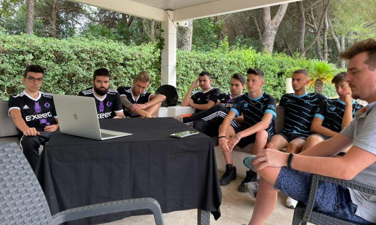 Exeed ospita l'Academy di PLB: i giovani del team di Corradi e Vieri 'a scuola' dai pro