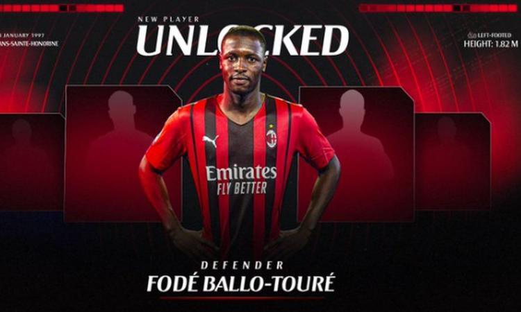 Milan, UFFICIALE: preso Ballo-Touré dal Monaco