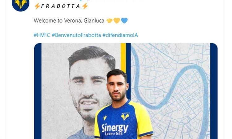 Verona, UFFICIALE: dalla Juve arriva Frabotta