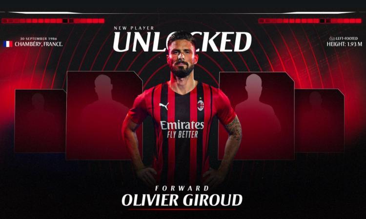 Milan, guarda Giroud: in italiano è tutto da ridere VIDEO