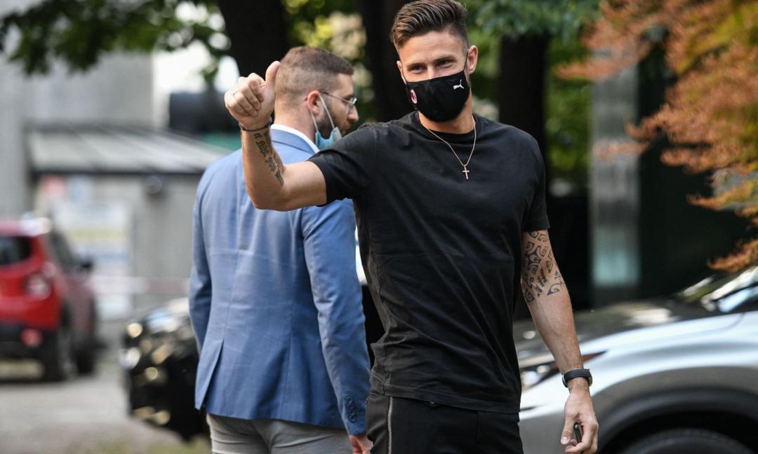 Il Milan al Giroud di boa