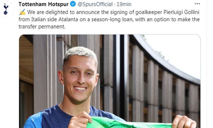 Atalanta, UFFICIALE: Gollini passa al Tottenham. La formula