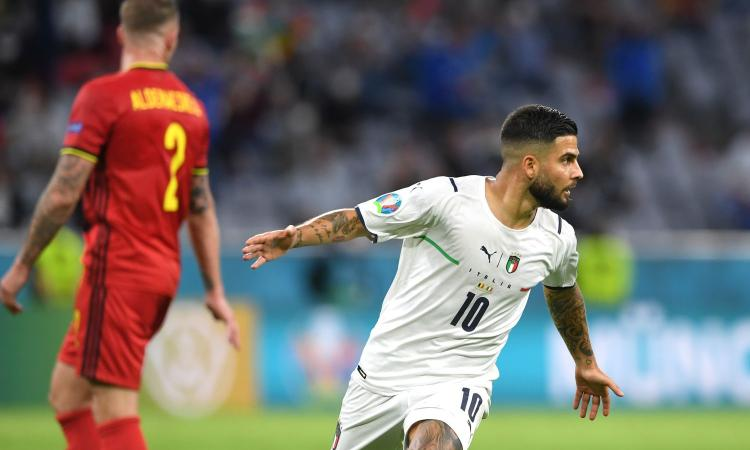 Euro 2020, Belgio-Italia: Insigne vince il premio di MVP!