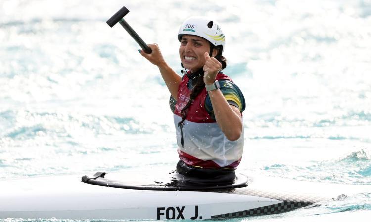 Jessica Fox e un preservativo che vale... l'oro olimpico