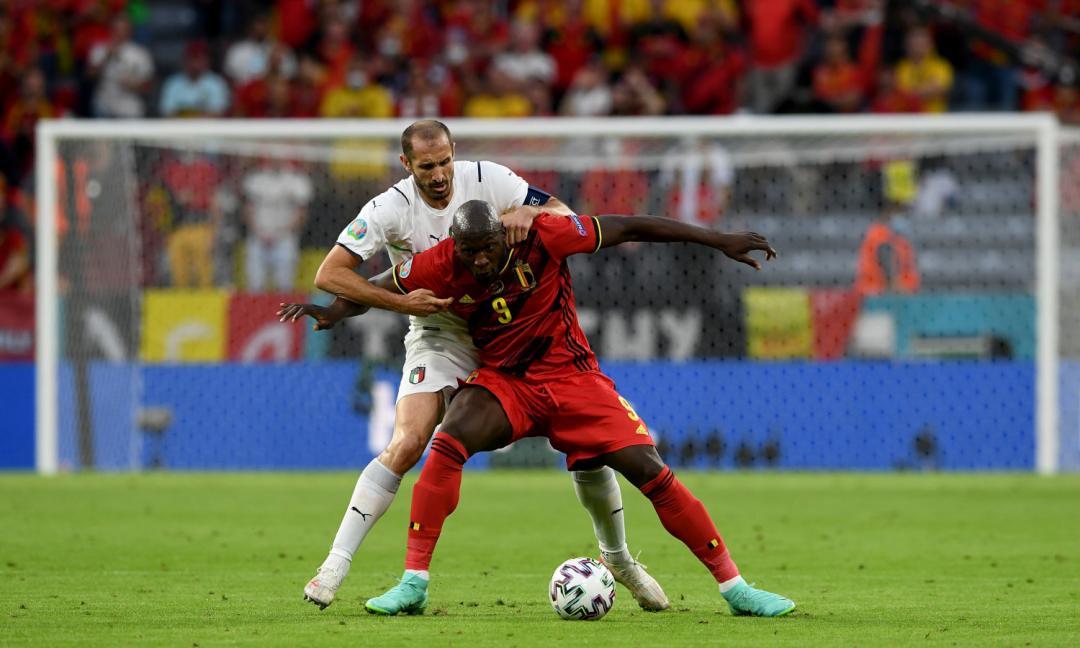 Italia-Belgio, Chiellini ferma (ancora) Lukaku: ecco come!