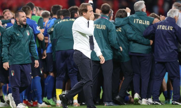 Italia in finale, Mancini: 'I meriti sono dei ragazzi, ho sempre creduto in loro. Ma non è ancora finita'