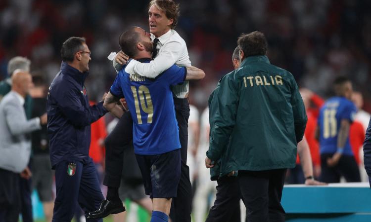 Le lacrime di Mancini, che cancella definitivamente l'incubo di Wembley: è lui il vero vincitore dell'Europeo