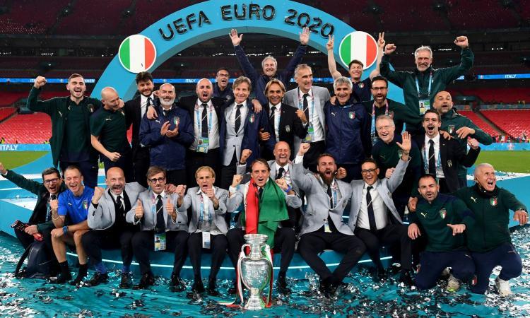 Italia, la squadra più bella d'Europa: schiacciata l'Inghilterra, tutto merito di Mancini