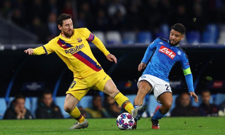 Napoli, dentro o fuori per Insigne: spunta l'idea di un rinnovo alla Messi