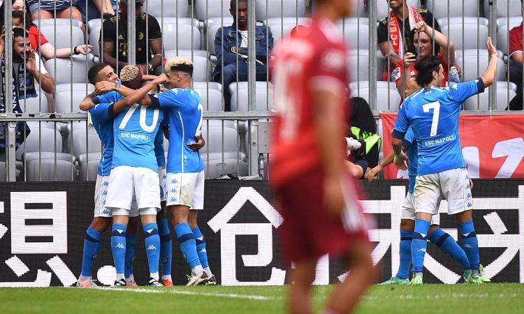 Spalletti, e sono tre: super Napoli a Monaco, 3-0 con doppietta di Osimhen