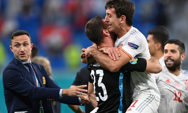 Da Ramos a Morata, la Spagna delle polemiche torna in semifinale e ritrova l'Italia