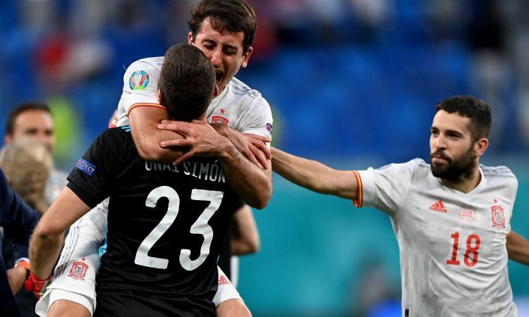 Oyarzabal manda la Spagna in semifinale. Battuta ai rigori una Svizzera eroica
