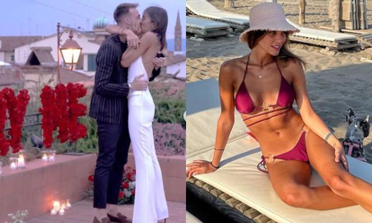 Castrovilli e la proposta di matrimonio a Rachele: 'She said yes' FOTO e VIDEO