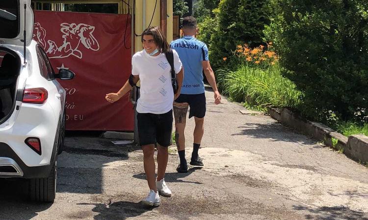 Lazio, ecco Romero: il classe 2004 è arrivato ad Auronzo di Cadore