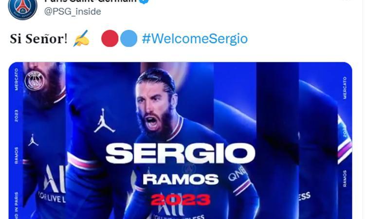 PSG, UFFICIALE anche il colpo Sergio Ramos