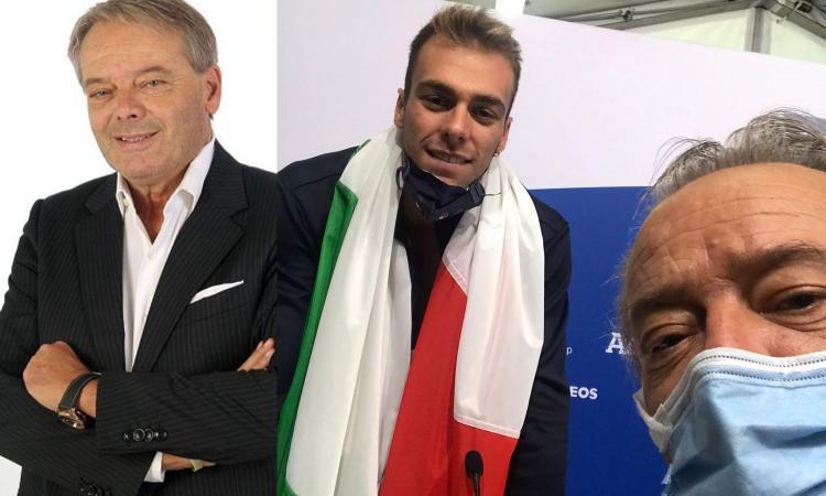 Turrini e Paltrinieri a CM: 'Mi hai fatto morire', 'Questa è più bella di quella di Rio'. E c'è un messaggio per la Juve...