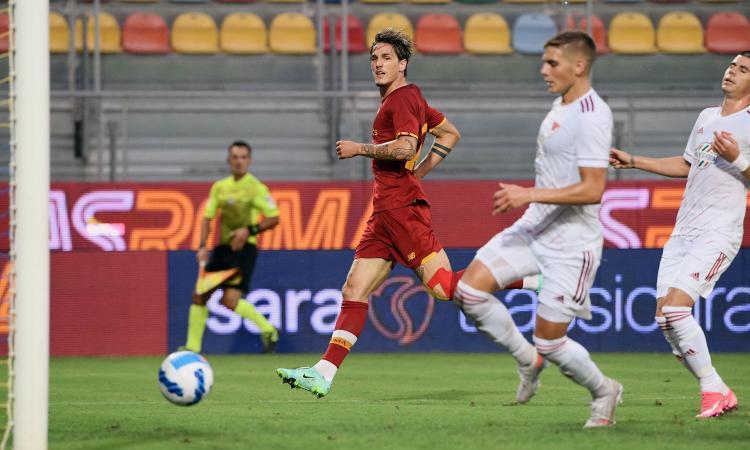 Dzeko non ha dimenticato come far gol, Zaniolo torna a splendere: la Roma di Mourinho riparte da due certezze