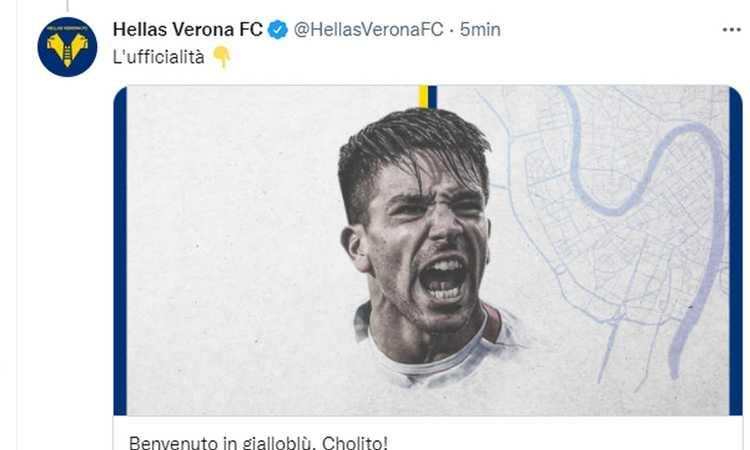 Convocati Verona: fuori Sutalo e Frabotta