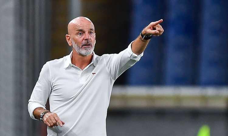 Milan, Pioli: 'Ibra e Giroud out con la Juve, Pellegri a disposizione. Scottati da Liverpool, sulle parole di Raiola...'