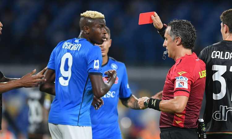 Napoli-Juve, ricorso per Osimhen accolto e tifosi bianconeri scatenati: 'Pagliacci!', 'Dela, e questo scippo?'