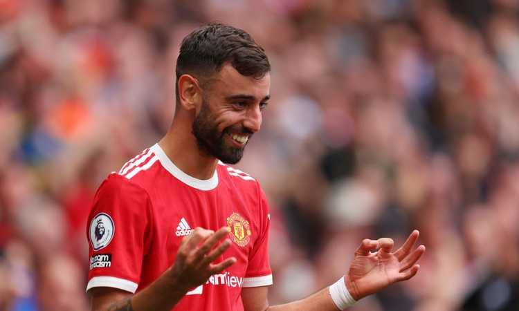 Manchester United, vicino un accordo monstre per il rinnovo di Bruno Fernandes