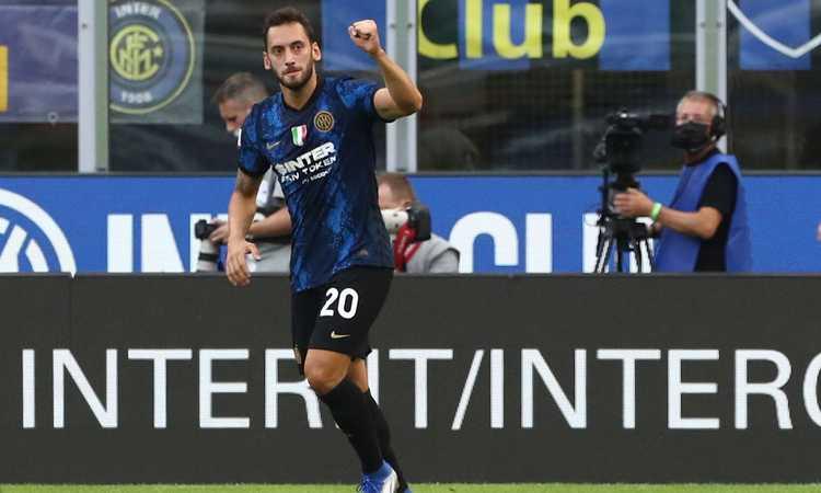 Inter-Genoa, le pagelle di CM: Calhanoglu incanta, che classe Dzeko! Vanheusden male, Hernani il peggiore