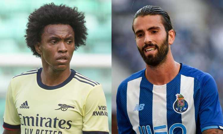Milan, occhio alle occasioni: proposti Willian e Oliveira, la situazione