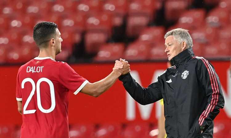 Dalot: 'Che bella la Champions. Atalanta? Il girone è difficile. Ronaldo mi ha raccontato quanto sia felice qui'
