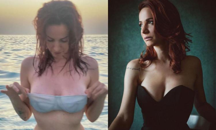 Andrea Delogu è incontenibile: bagno super sexy, che FOTO!