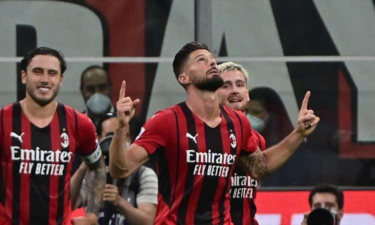 Milan, UFFICIALE: Giroud negativo al Covid. La scelta per la Lazio