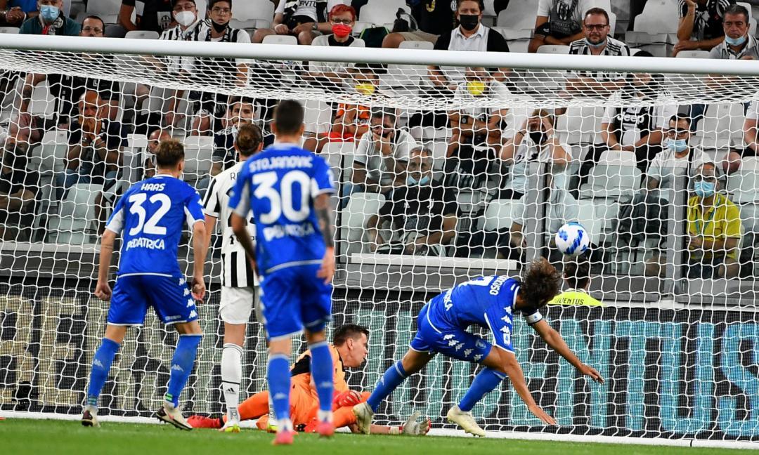 """Dal Benevento all'Empoli... la Juventus resta """"liquida"""""""