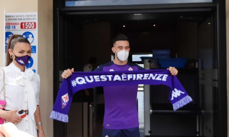 Fiorentina:è arrivato Nico Gonzalez, l'acquisto più costoso della storia viola FOTO e VIDEO