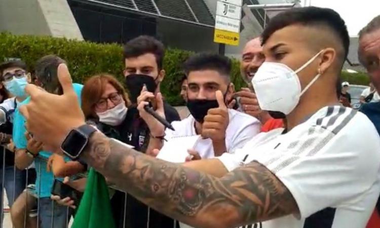 Juve: visite concluse per Kaio Jorge. Ora torna in Brasile, sarà di nuovo a Torino nel week-end FOTO e VIDEO