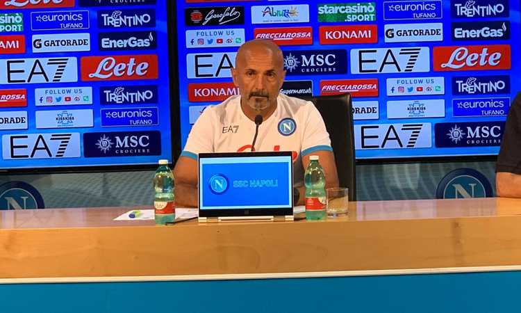 Spalletti: 'Napoli la sfida più arrapante! Non ci manca niente. Sul futuro di Insigne e Manolas...'